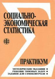 Социально-экономическая статистика: Практикум ISBN 978-5-279-02637-1