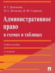 Административное право в схемах и таблицах : учебное пособие. – 2-е изд., перераб. и доп. ISBN 978-5-392-27810-7